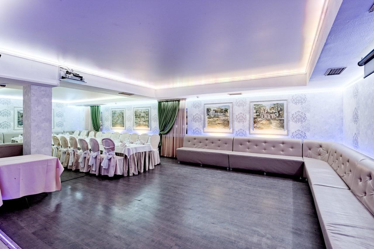 Банкетный зал ЛЕО Сиреневый