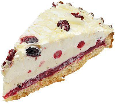 брусничный пирог