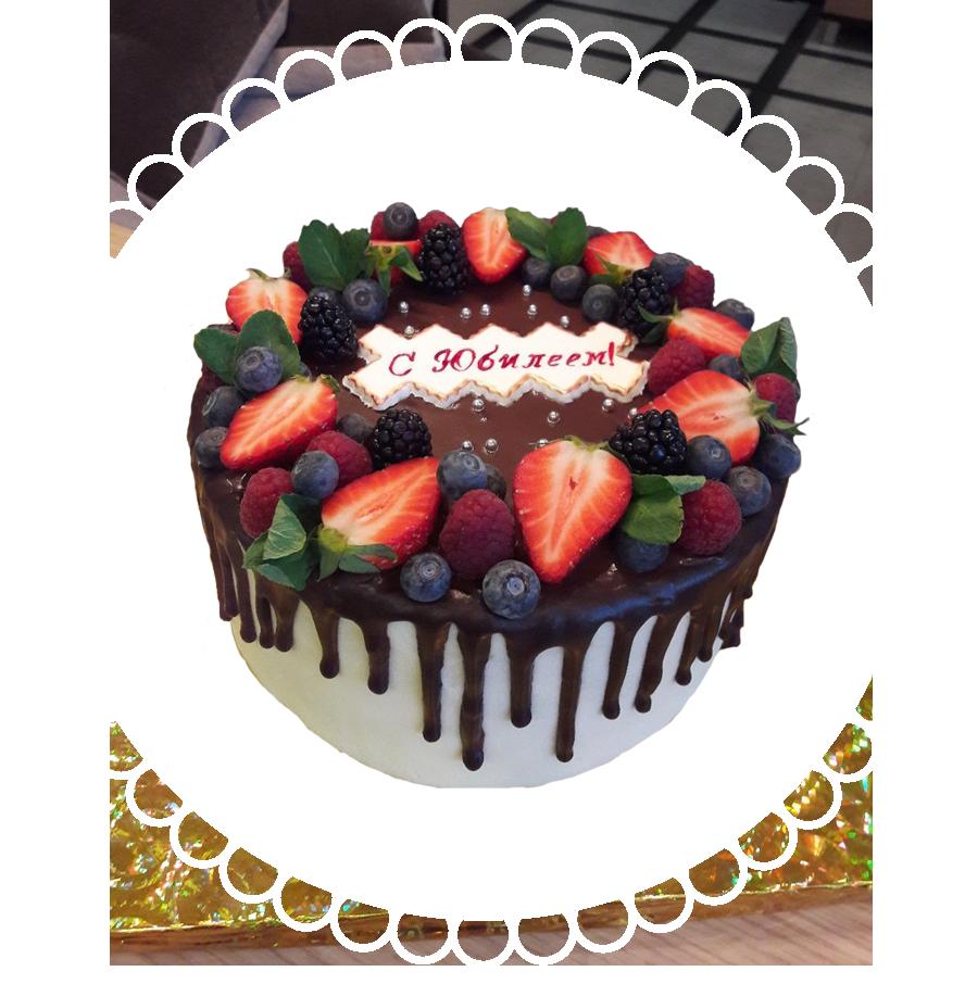 Торт на день рождения круглый ТК-22