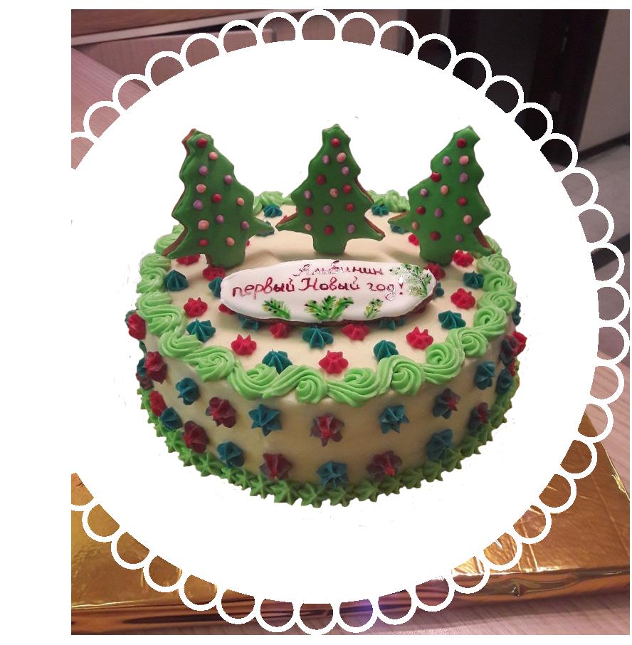 торт детский круглый ТК-10