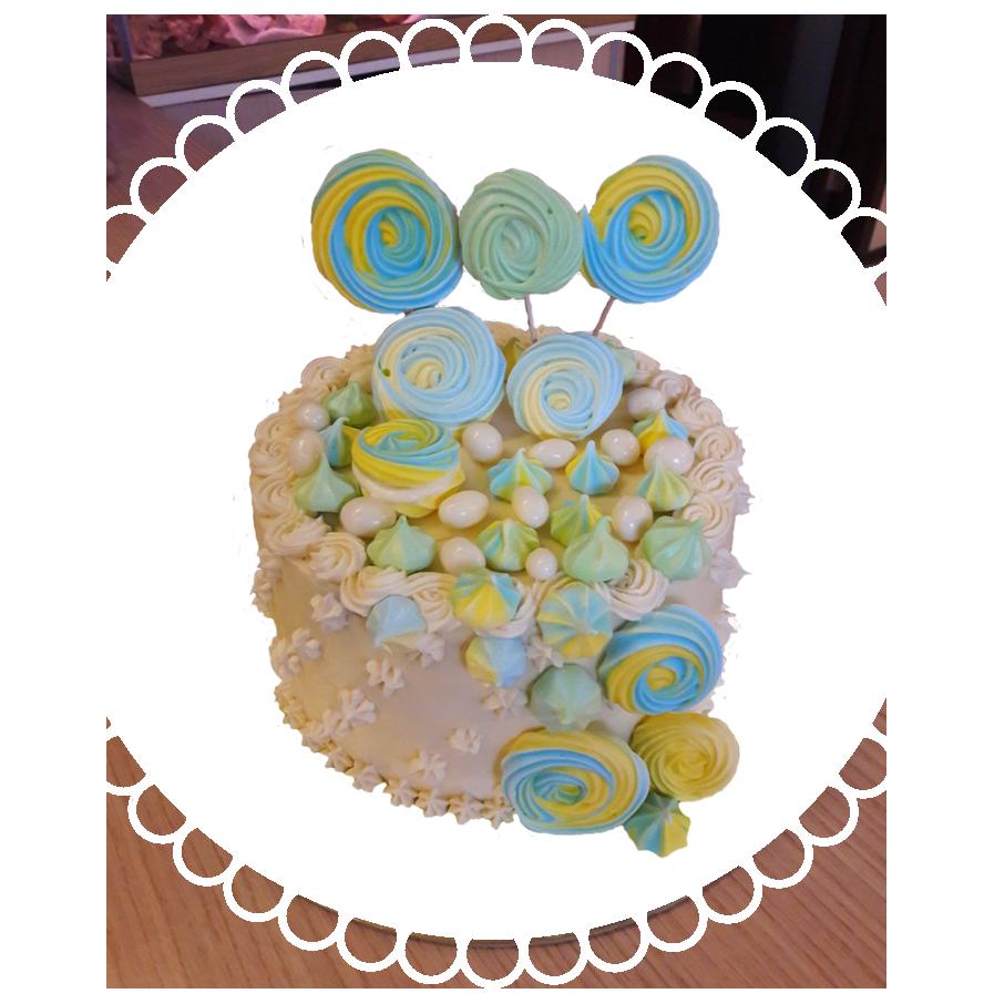 торт детский круглый ТК-11
