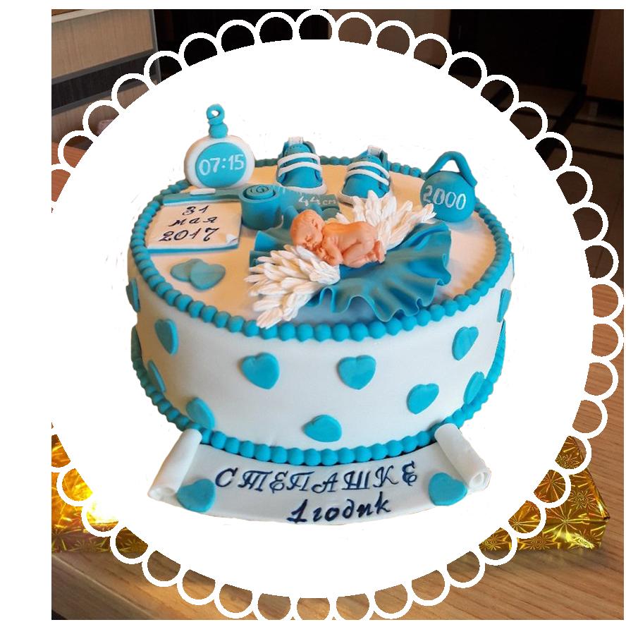 торт детский круглый ТК-12