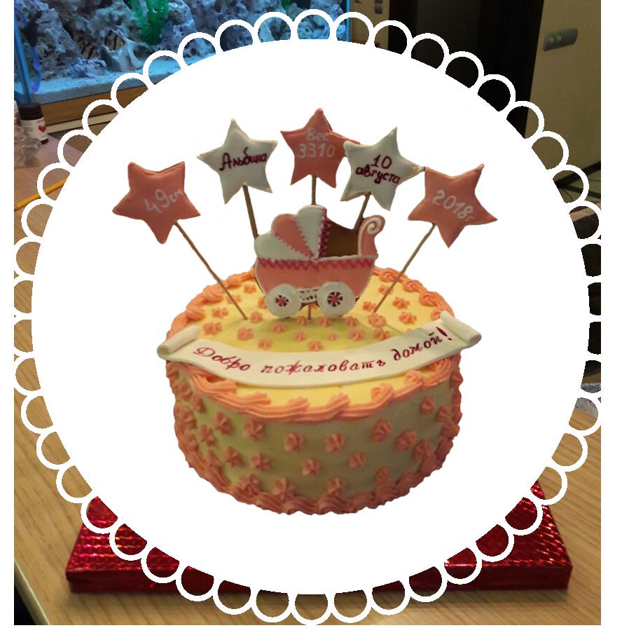 Торт детский круглый ТК-15
