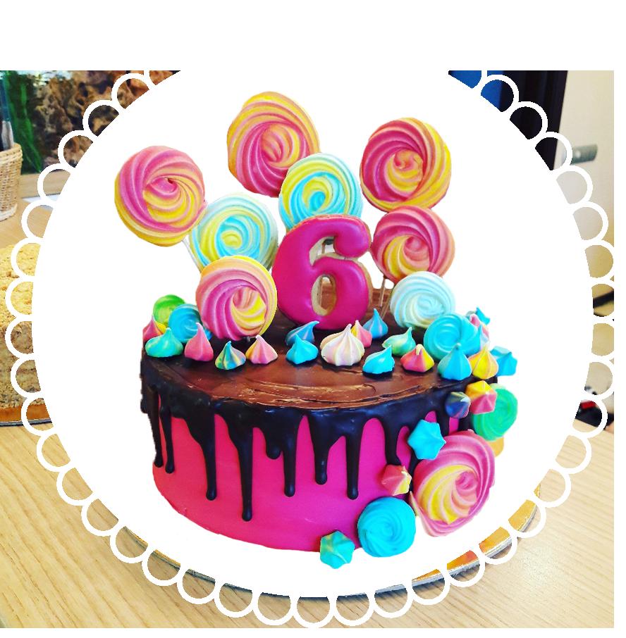 торт детский круглый ТК-5