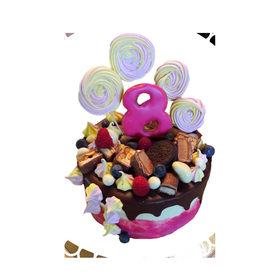 торт детский круглый ТК-6