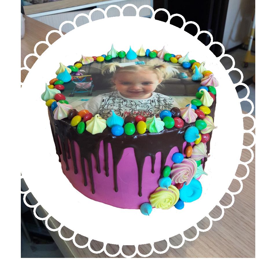 торт детский круглый ТК-7