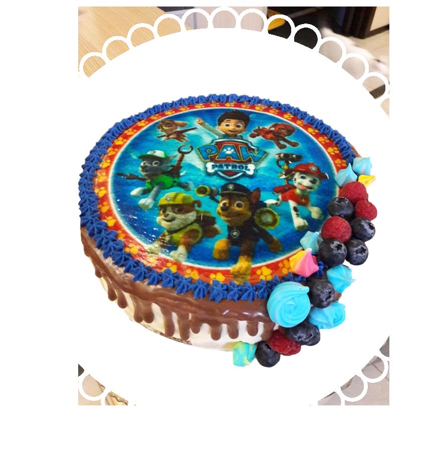 торт детский круглый ТК-8