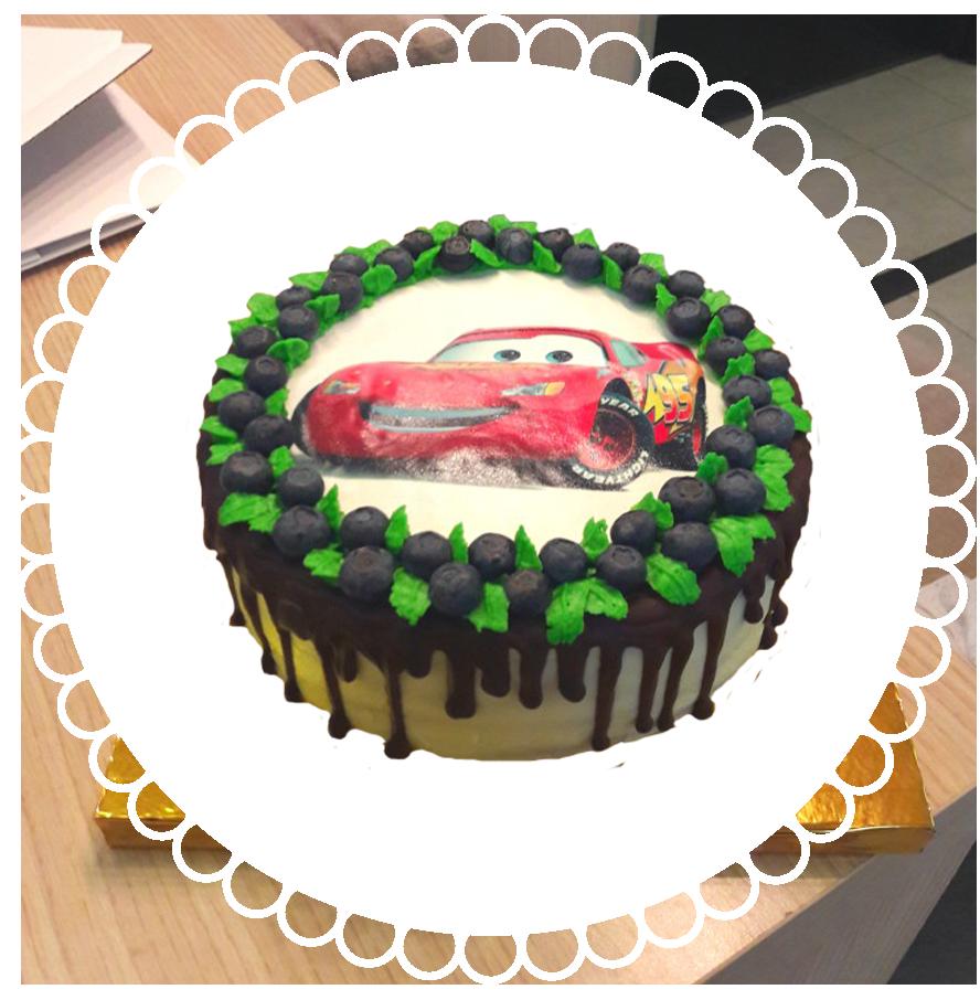 торт детский круглый ТК-9