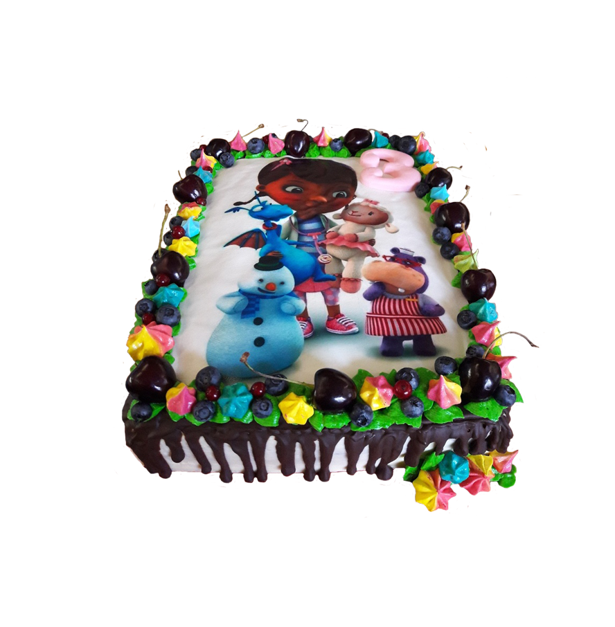 торт детский прямоугольный ТП-4