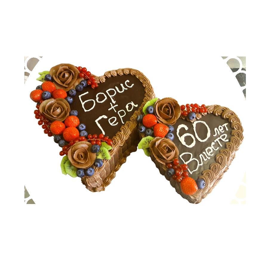 Торт на годовщину свадьбы круглый ТС-6