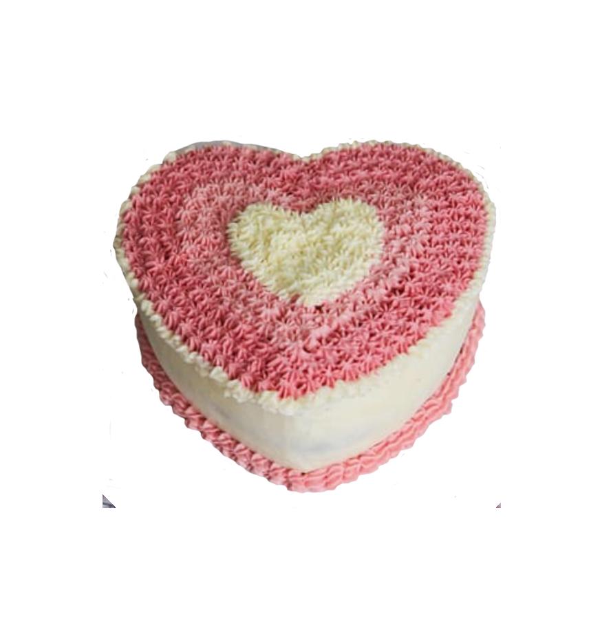 свадебный торт сердце ТС-2