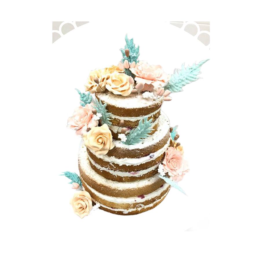 свадебный торт трехъярусный ТТ-6